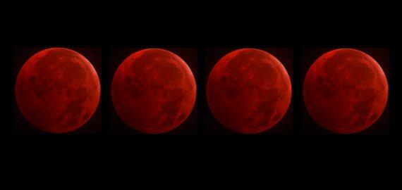 Lunar Eclipse Tetrad